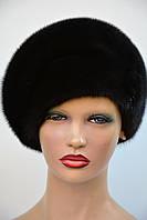 """Женская шапка норковая """"Берет"""", фото 1"""