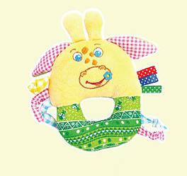 Погремушка - бублик Жираф Озорник