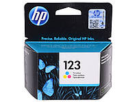 Картридж струйный HP для Deskjet 2130 HP 123 Color (F6V16AE)