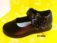 Красивые школьные туфли для девочек