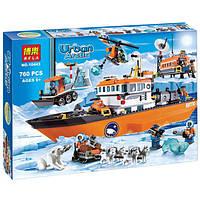 «Арктический ледокол», конструктор детский BELA Urban Arctic 10443, 760 деталей, возраст 6+
