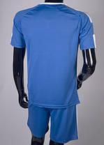 Футбольная форма Europaw 009 сине-белая , фото 3