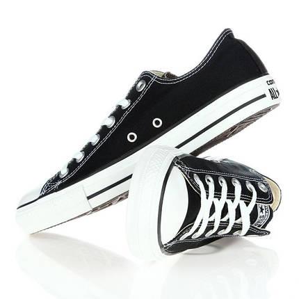 Кеды Converse All Star Replica низкие черные , фото 2