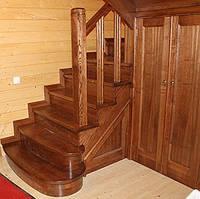Лестница деревянная №14