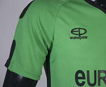 Футбольная форма Europaw 009 зелено-черная, фото 2