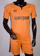 Футбольная форма Europaw 009 оранжево-черная [XS], фото 1