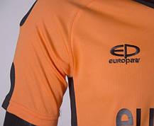 Футбольная форма Europaw 009 оранжево-черная, фото 2