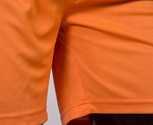 Футбольная форма Europaw 009 оранжево-черная, фото 3