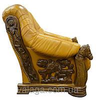 """Кожаный диван,Дубові антикварні меблі  """"Oskar"""", антикваріат, кожаный антиквариат"""