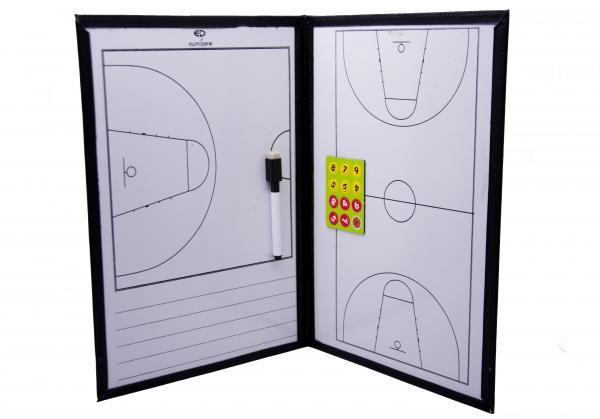 Планшет тактический баскетбол 25х36 см