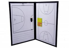 Планшет тактический баскетбол 25х36 см, фото 2