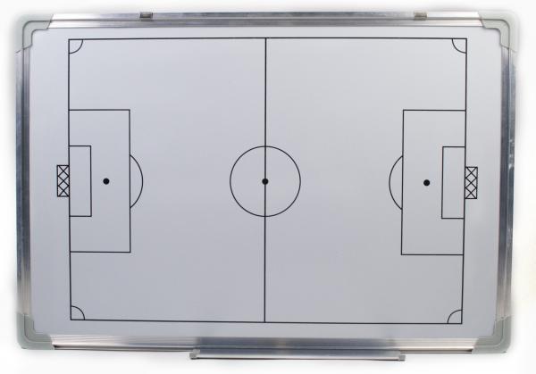 Доска тактическая настенная футбол 60х90