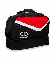 Сумка спортивная Europaw TeamLine черно-красная, фото 1