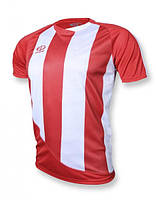 Футболка игровая Europaw 001 красно-белая L