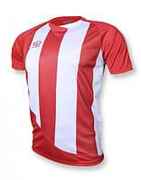 Футболка игровая Europaw 001 красно-белая