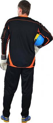 Вратарская форма Europaw черно-оранжевая, фото 2