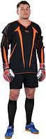 Вратарская форма Europaw черно-оранжевая с шортами [XL]