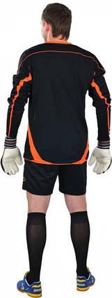 Вратарская форма Europaw черно-оранжевая с шортами 2XL, фото 2