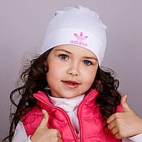 Модная спортивная шапка для девочек - весна-осень  - Артикул 1758