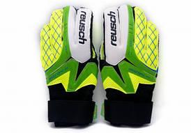 Перчатки Вратарские Reusch replica зелено-салатовые [9]