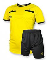 Судейская форма Europaw желто-черная [M]