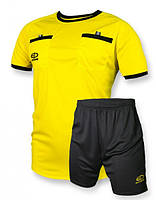 Судейская форма Europaw желто-черная [L]