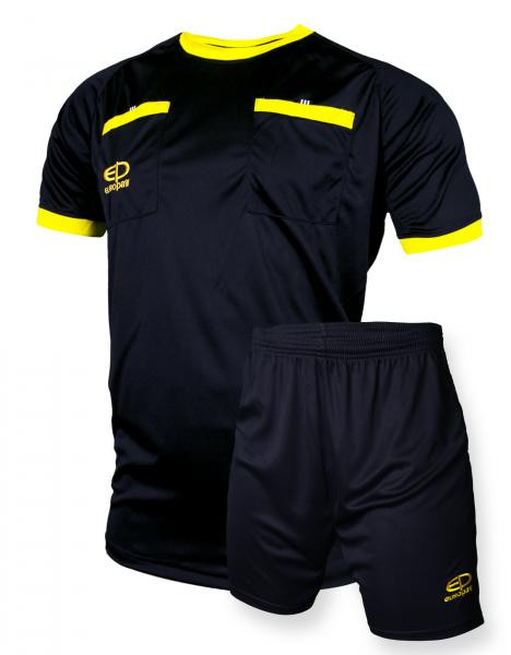 Судейская форма Europaw черно-желтая