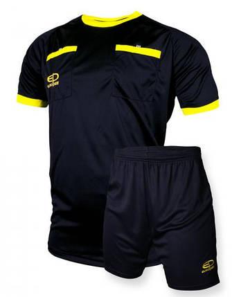 Судейская форма Europaw черно-желтая, фото 2