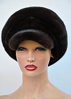 """Женская шапка норковая """"Кепка-цельная""""-перфорация, фото 1"""