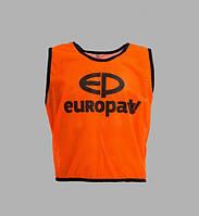 Манишка Europaw logo 3\4 оранжевая [M]