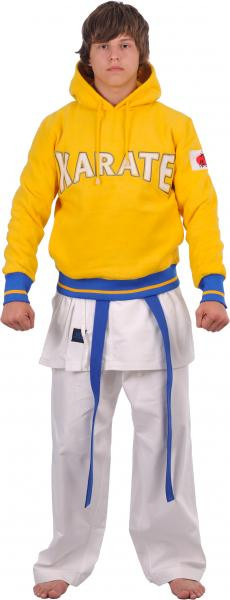 Кофта трикотажная Europaw Karate желтая