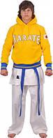 Кофта трикотажная Europaw Karate желтая [XS]