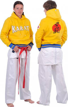 Кофта трикотажная Europaw Karate желтая, фото 2