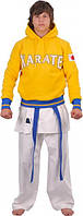 Кофта трикотажная Europaw Karate желтая [S]