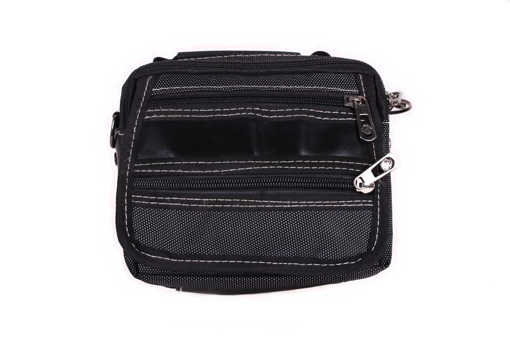 Компактная мужская сумка серого цвета 301724