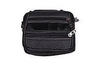 Компактная мужская сумка серого цвета 301724, фото 1