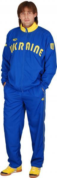 Костюм Europaw Украина полиестер мужской синий
