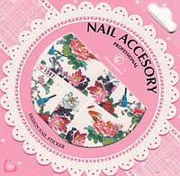 Слайдер-дизайн для ногтей Nail Accesory 1597