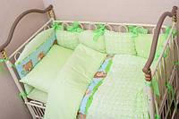 Комплект в детскую кроватку (возможен пошив на заказ ) постель детская