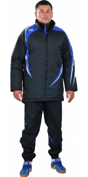 Куртка зимняя Europaw 2010 черно-синяя