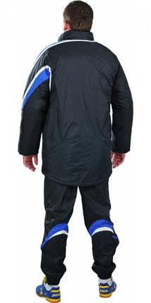 Куртка зимняя Europaw 2010 черно-синяя, фото 2