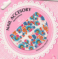 Слайдер-дизайн для ногтей Nail Accesory 1585