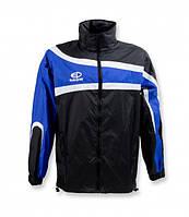 Куртка ветрозащитная Europaw TeamLine черно-синяя