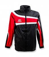 Куртка ветрозащитная Europaw TeamLine черно-красная