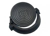 Люк смотровой резиновый 12,5 т черный