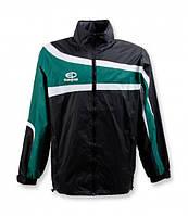 Куртка ветрозащитная Europaw TeamLine черно-зеленая L