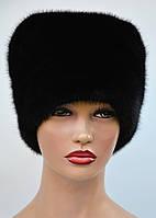 """Женская шапка норковая """"Кубанка-высокая"""""""