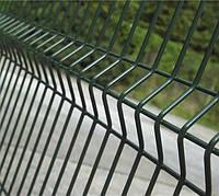 Забор из сварной сетки с полимером