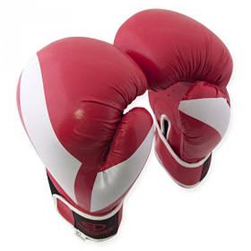 Перчатки боксерские Europaw PVC красные 8 oz