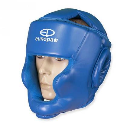 Шлем боксерский Europaw синий, фото 2